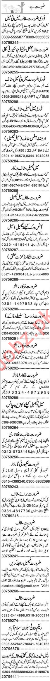 Purchase Assistant & Admin Assistant Jobs 2021 in Lahore