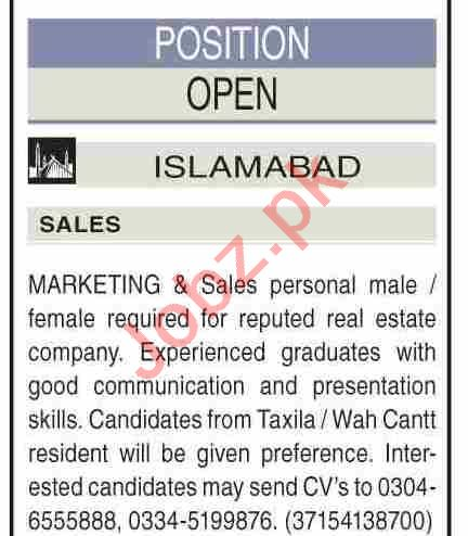 Real Estate Manager & Real Estate Agent Jobs 2021