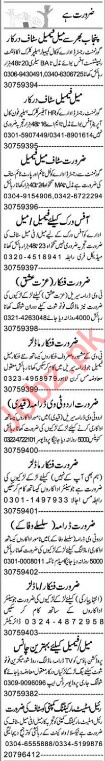 Assistant Manager & Office Assistant Jobs 2021 in Faisalabad