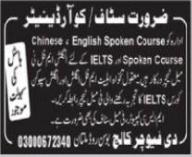 The Future College Jobs 2021 in Multan