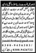 Driving Jobs 2021 in Lahore