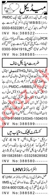 Gynecologist & Medical Officer Jobs 2021 in Peshawar