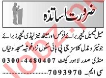Principal & Coordinator Jobs 2021 in Lahore