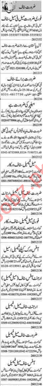 Civil Supervisor & Lab Assistant Jobs 2021 in Lahore