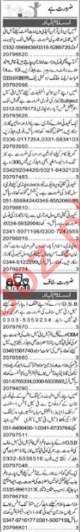 Purchase Assistant & QA Analyst Jobs 2021 in Islamabad