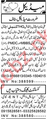 Medical Officer & LHV Jobs 2021 in Peshawar