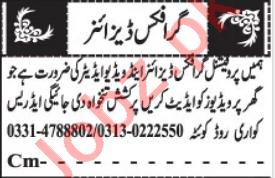 Video Editor & Graphic Designer Jobs 2021 in Quetta
