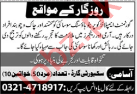 Government Employees Cooperative Housing Society Jobs 2021