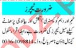 Male & Female Teachers Jobs 2021 in Peshawar