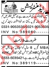 Accountant & HR Manager Jobs 2021 in Peshawar