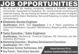Management Staff Jobs 2021 in Lahore Karachi & Islamabad