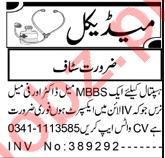 Lady Doctor & Nurse Jobs 2021 in Peshawar