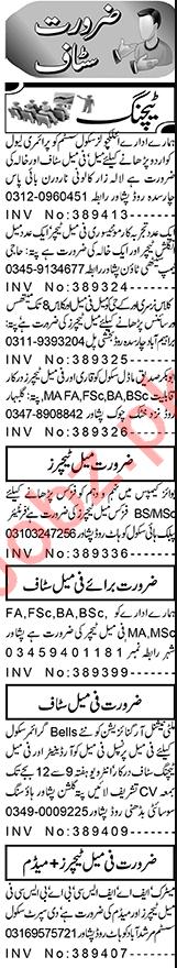 Montessori Teacher & Principal Jobs 2021 in Peshawar