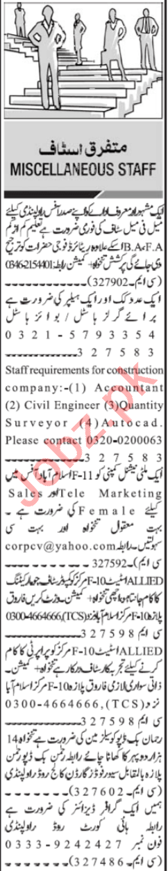 Telemarketing Executive & Branch Manager Jobs 2021
