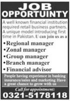 Financial Institution Management jobs 2021