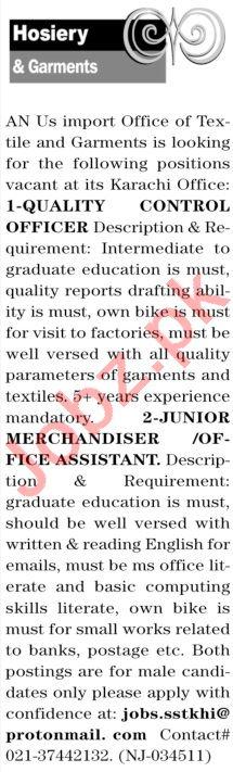The News Sunday Classified Ads 14th Feb 2021 Hosiery Staff