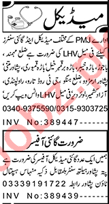 Gynecologist & Lady Health Visitor Jobs 2021 in Peshawar
