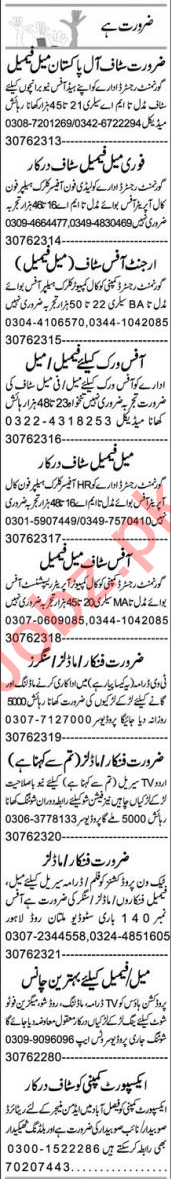 Account Manager & Assistant Supervisor Jobs 2021 in FSD