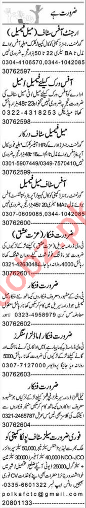 Account Manager & Branch Manager Jobs 2021 in Faisalabad