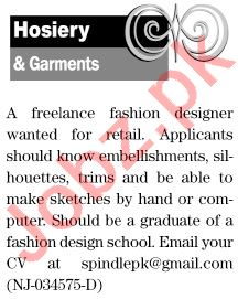 The News Sunday Classified Ads 21st Feb 2021 for Hosiery