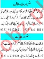 Executive Manager & Pharmacist Jobs 2021 in Peshawar