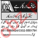 Security Executive & Gunman Jobs 2021 in Islamabad