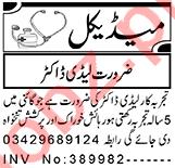 Lady Doctor & Gynecologist Jobs 2021 in Peshawar