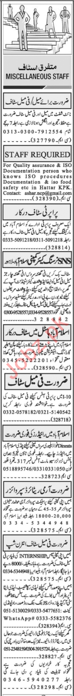 Quality Assurance Officer & Patient Care Attendant Jobs 2021