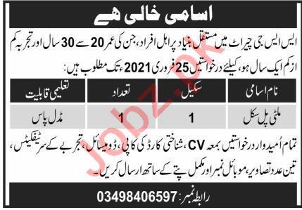Special Service Group SSG Cherat Jobs 2021