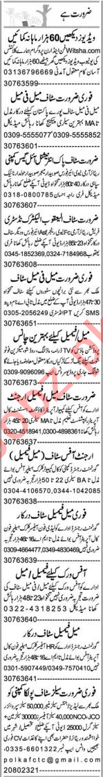 Lab Assistant & Purchase Assistant Jobs 2021 in Lahore