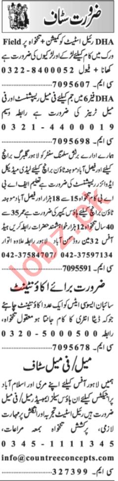 Lady Medical Advisor & Field Worker Jobs 2021 in Lahore