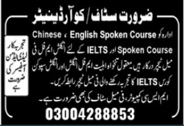 Teaching Staff Jobs in Educational Institution