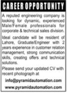 Sales Staff Jobs in Engineering Company
