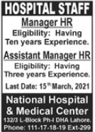 Management Jobs in National Hospital & Medical Center