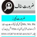 Iqra Maarif ul Quran School Teaching staff Jobs 2021