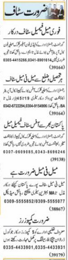 Daily Nawai Waqt Management Jobs 2021 in Lahore