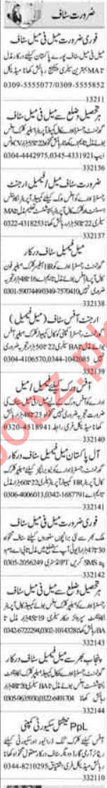 Data Entry Operator & Receptionist Jobs 2021 in Islamabad