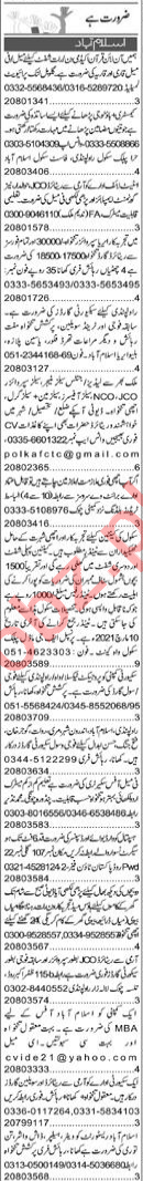 Purchase Assistant & Quran Teacher Jobs 2021 in Islamabad