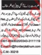 Boiler Engineer & Boiler Operator Jobs 2021 in Peshawar