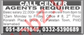 Call Center Agent Jobs 2021 in Islamabad
