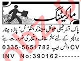 Sales Manager & Marketing Manager Jobs 2021 in Peshawar