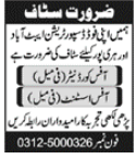 Food Distribution Company Jobs 2021 in Abbottabad