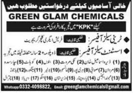 Green Glam Chemicals Jobs 2021