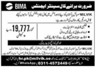 Milvik Mobile Pakistan Jobs 2021 For Call Center Agents