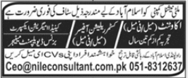 Nile Consultant Jobs 2021 in Islamabad