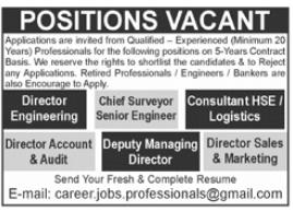 Management Staff Jobs 2021 in Rawalpindi