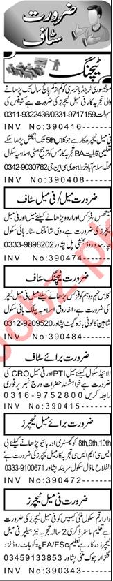 Vice Principal & Subject Teacher Jobs 2021 in Peshawar