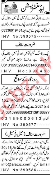 Finance Manager & HR Officer Jobs 2021 in Peshawar