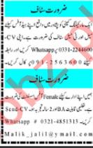 HR Officer & Office Assistant Jobs 2021 in Peshawar