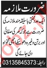 Kitchen Helper & Cook Jobs 2021 in Abbottabad
